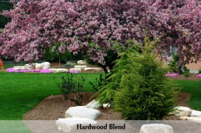 hardwoodblendmulchlandscape